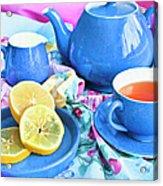 Do You Take Lemon? Acrylic Print