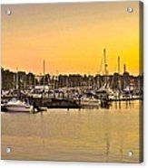 Dock Of The Bay Acrylic Print