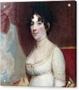 Dolley Payne Todd Madison (1768-1849) Acrylic Print