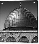 Dome Of The Rock Acrylic Print by Amr Miqdadi