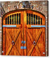 Doors Of Charleston Acrylic Print