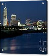 Downtown Indianapolis Indiana Acrylic Print