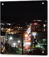 Downtown Morgantown From Above Acrylic Print