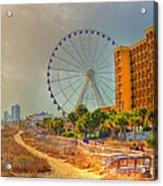Downtown Myrtle Beach Acrylic Print