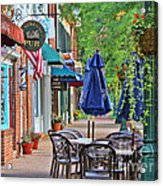 Downtown Worthington Acrylic Print
