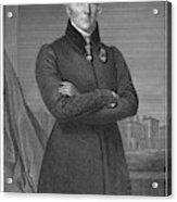 Duke Of Wellington (1769-1852) Acrylic Print