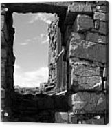 Dun Aengus Doorway Acrylic Print