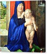 Durer's Madonna And Child Acrylic Print