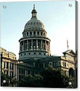 Early Morning At The Texas State Capital Acrylic Print