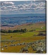 East End Of Emmett Valley Acrylic Print