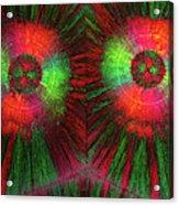 Edta Crystals Acrylic Print