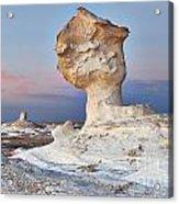 Egytians White Desert Acrylic Print