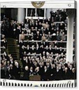 Eisenhower Inauguration Acrylic Print