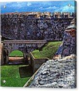El Morro Fortress Old San Juan Acrylic Print