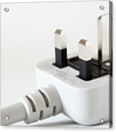 Electrical Plug Acrylic Print