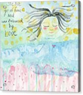 Embraced By Love Acrylic Print