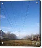 Energy Acrylic Print