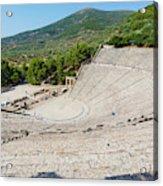 Epidaurus, Argolis, Peloponnese Acrylic Print