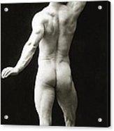 Eugen Sandow In Classical Ancient Greco Roman Pose Acrylic Print