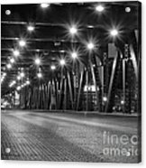 Evening In The City Acrylic Print