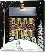 Evergreen Cottage Acrylic Print