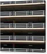 Facade Of Parking Building In Thailand Acrylic Print