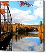 Autumn In Upper Michigan Acrylic Print
