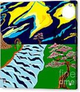 Fantasy Trees Acrylic Print