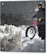 Fat Tire Bike Acrylic Print