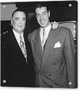 Fbi Director J. Edgar Hoover Acrylic Print