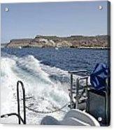 Ferry Hasta Puerto De Mogan Acrylic Print