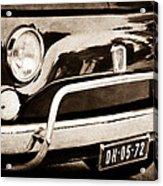 Fiat 500 L Front End Acrylic Print
