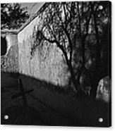 Film Noir Kim Novak Vertigo 1958 Graveyard Tumacacori Mission Tumacacori Arizona 1979-2008 Acrylic Print