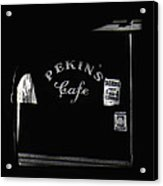 Film Noir Out Of The Past 1947 Pekin's Cafe Leveled Shortly Part Of Urban Renewal Tucson Az '67-'08 Acrylic Print