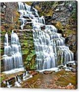 Finger Lakes Waterfall Acrylic Print