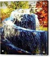 Finlay Park Fountain 3 Acrylic Print