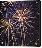 Fireworks Celebration  Acrylic Print by Garry Gay