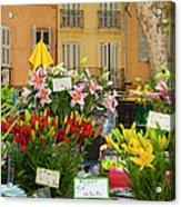 Flowers At Market Acrylic Print