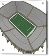Football Soccer Stadium Acrylic Print