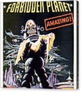 Forbidden Planet  Acrylic Print by Silver Screen