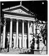 former national congress building Santiago Chile Acrylic Print