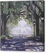 Forsythe Park Acrylic Print