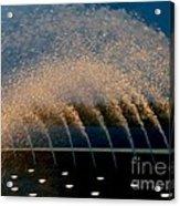 Fountain 2 Acrylic Print