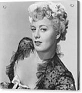 Frenchie, Shelley Winters, 1950 Acrylic Print
