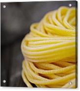 Fresh Pasta Acrylic Print