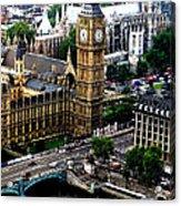 From The Eye Big Ben Acrylic Print