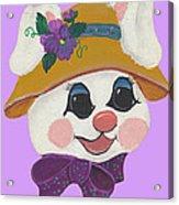 Funny Bunny Acrylic Print