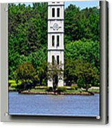 Furman Tower Acrylic Print
