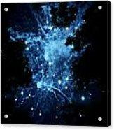 Galactic Fireworks Acrylic Print