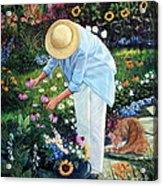 Gardener's Eden Acrylic Print